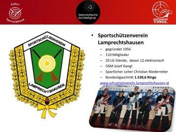 • Sportschützenverein Lamprechtshausen