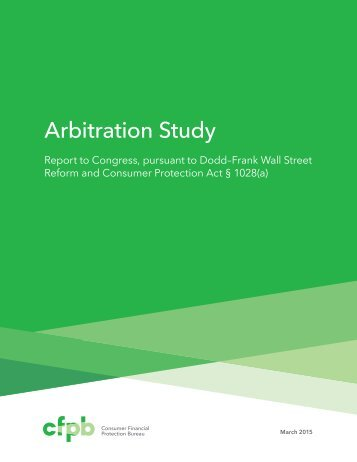 201503_cfpb_arbitration-study-report-to-congress-2015