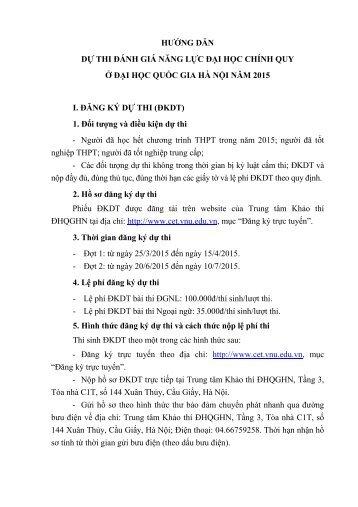 HƯỚNG-DẪN-DỰ-THI-ĐÁNH-GIÁ-NĂNG-LỰC-ĐẠI-HỌC-CHÍNH-QUY-Ở-ĐẠI-HỌC-QUỐC-GIA-HÀ-NỘI-NĂM-2015-PDF