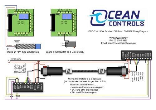 V+ COM 5V NC2 C2 NO2 NC1 Limit Switch Cnc Wiring Diagram on
