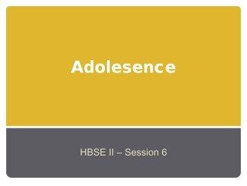 Adolescence - ilzeearner.com