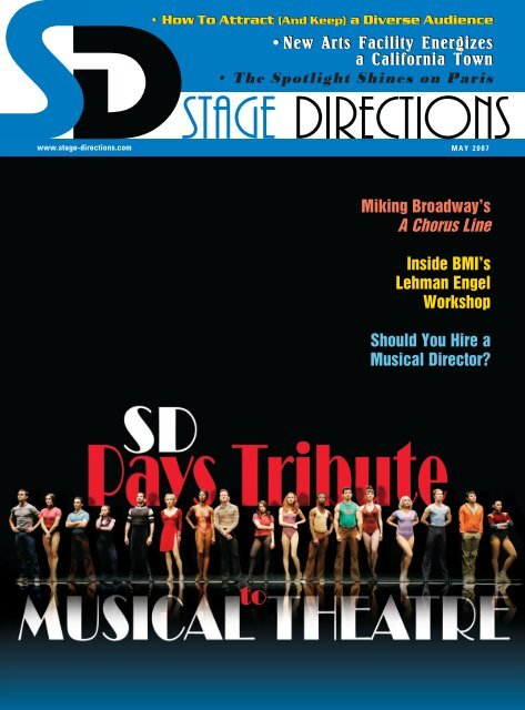 May Issue - Stage Directions Magazine