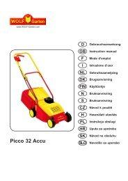 Picco 32 Accu - WOLF-Garten AT