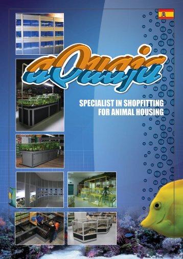 SPECIALIST IN SHOPFITTING FOR ANIMAL HOUSING - Aquaja