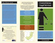 Central Jersey Legal Services - Legal Services of New Jersey