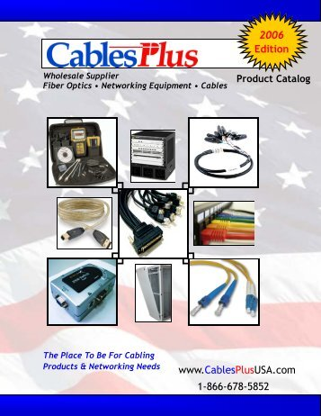 CablesPlus_Catalog_2.. - Cables Plus USA