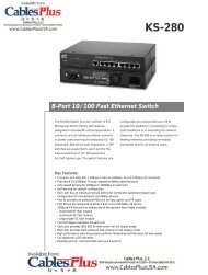 KS-280 - Cables Plus USA