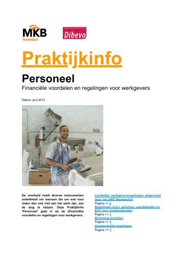Download het infoblad - Dibevo