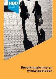 Bevolkingskrimp en winkelgebieden - Stedelijke Economie