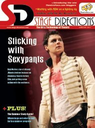 January 2011 PDF - Stage Directions Magazine
