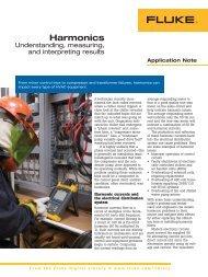 Harmonics - understanding, measuring, and interpreting results