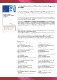 A Practical Guide to Financial Reporting Standards (Singapore), 5th ...