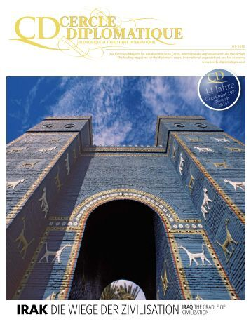 CERCLE DIPLOMATIQUE - issue 01/2015