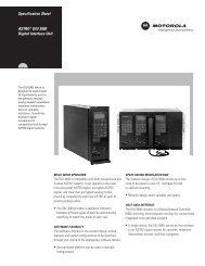 ASTRO® DIU 3000 Digital Interface Unit Specification Sheet