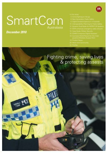 Fighting crime, saving lives & protecting assests