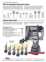 Multi-line Expandable Cordless phone systems - Product Reviews ...