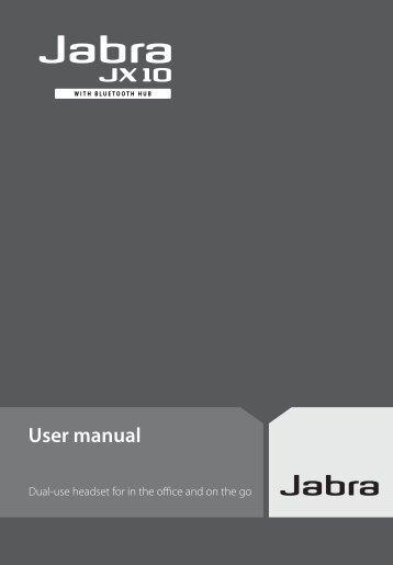 Jabra JX-10 Hub Manual