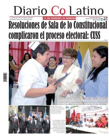 Edición 10 de Marzo de 2015
