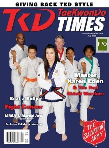 Master Karen Eden - Taekwondo Times