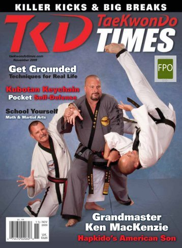 Grandmaster Ken MacKenzie - Taekwondo Times