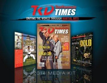 2014 MEDIA KIT - Taekwondo Times