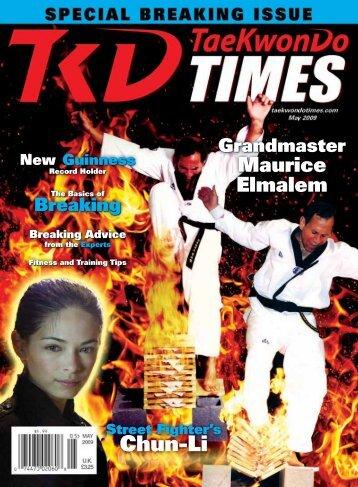 Chun-Li - Taekwondo Times