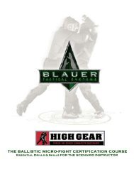 the ballistic micro-fight certification course - Blauer Tactical Systems