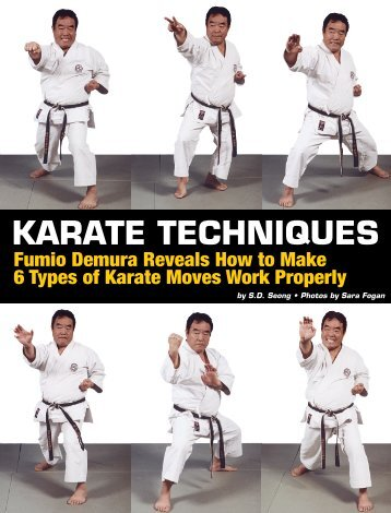KARATE TECHNIQUES - Karate Dojo Online