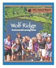 Annual Report - Wolf Ridge Environmental Learning Center