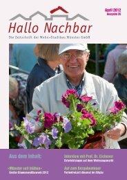 Mieterzeitung (Ausgabe 35), April 2012 - Wohn+Stadtbau GmbH
