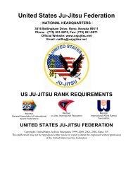 Rank Requirements - United States Ju-Jitsu Federation