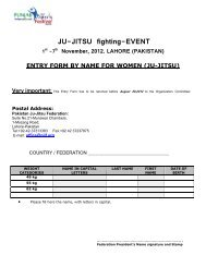 JU-JITSU fighting-EVENT - United States Ju-Jitsu Federation