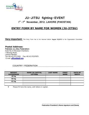 Jiu Jitsu World Championship - United States Ju-Jitsu Federation