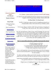 About USA Alliance - United States Ju-Jitsu Federation