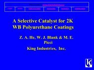 A Selective Catalyst for 2K WB Polyurethane ... - Wernerblank.com