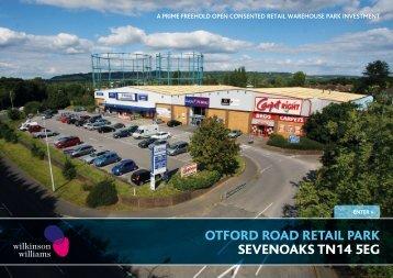 Otford Road Retail Park - Sevenoaks - Wilkinson Williams