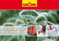 Winterkatalog 2011 - Ansichtsexemplar (700 KB) - Wolf-Garten