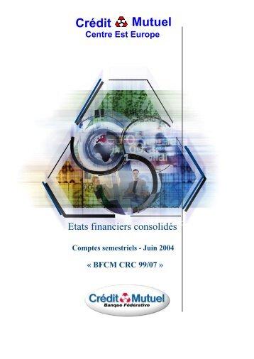 Juin 2004 - Banque Fédérative du Crédit Mutuel