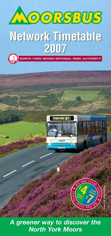 the North York Moors National Park - TravelNorthEast.co.uk
