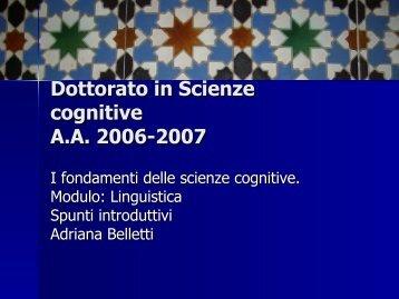 Mente/Cervello
