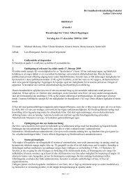 Referat af møde i Husudvalget for Victor Albeck Bygningen 17 ...