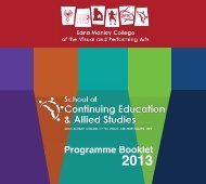 Download the programme brochure [Updated] - Edna Manley ...