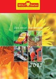 Gartenjahr 2011 - Ansichtsexemplar - Wolf-Garten