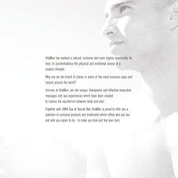 VitaMan has evolved a natural, inclusive skin-care ... - Conrad Bali