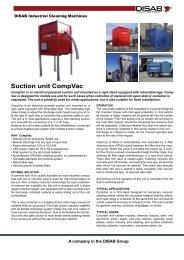 Suction unit CompVac
