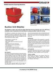 Suction Unit SkipVac - Disab.com