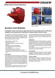 Suction Unit SkipVac