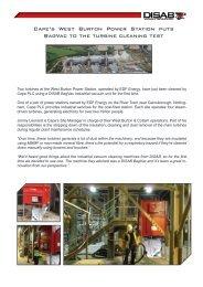 BagVac at West Burton Power Station2