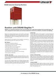 Suction unit DISAB BagVac™ - Disab.com