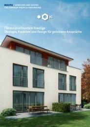 Fensterprofilsystem Prestige Ökologie, Funktion und Design ... - Inoutic